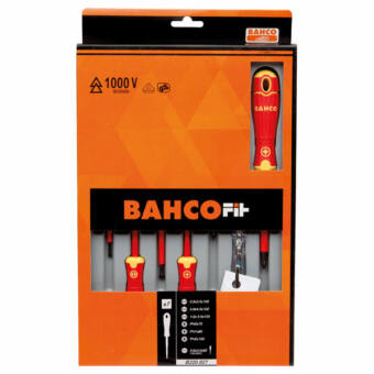 7 részes 1000V szigetelt csavarhúzó készlet Bahco