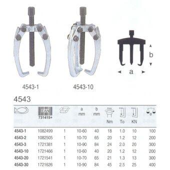 4543-10 Bahco háromkarú lehúzó