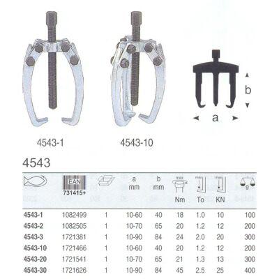 4543-30 Bahco háromkarú lehúzó